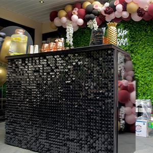 Black Shimmer Bar