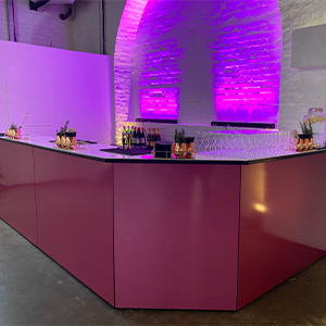 Pink Glitter Bar